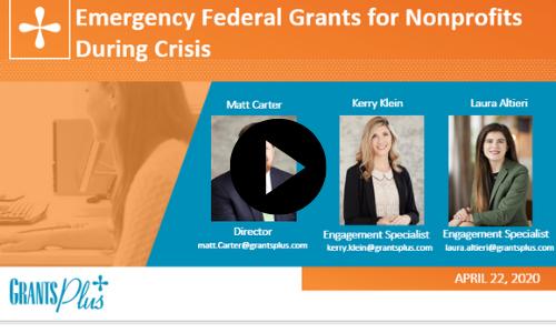 Recording Images - Federal Grants Mini Webinar Series #3
