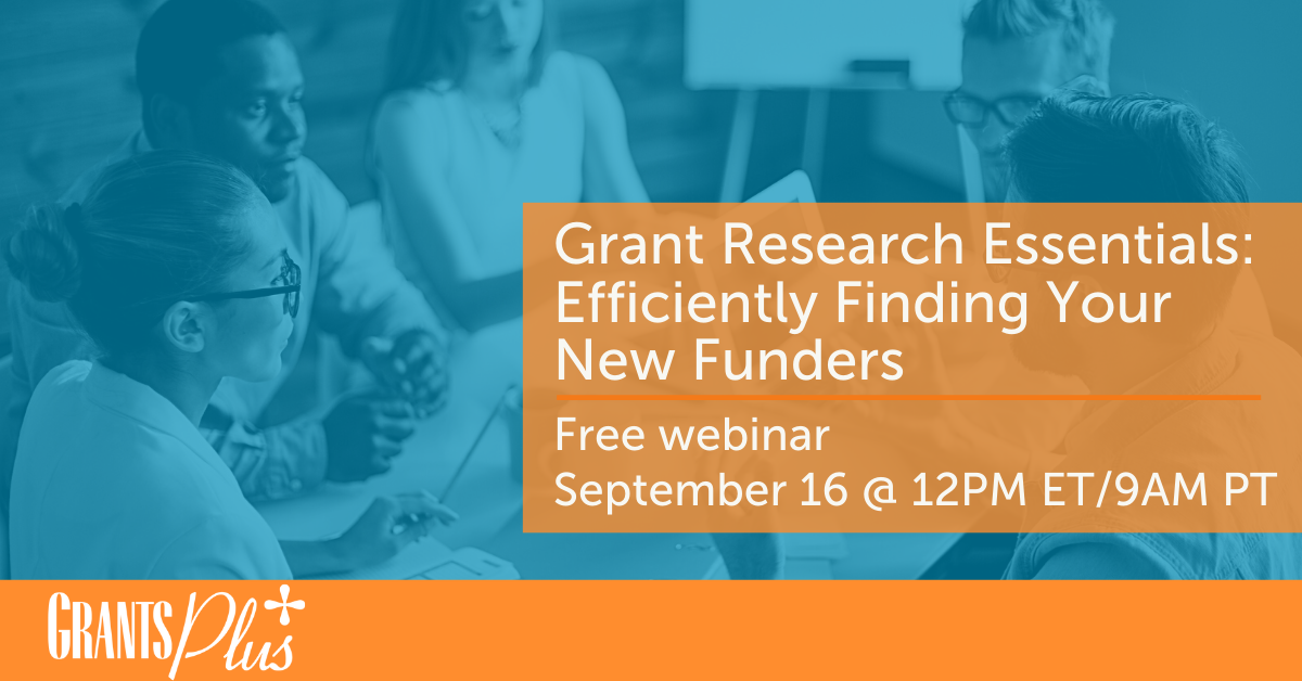 Grant Research Essentials Efficiently Finding Your New Funders