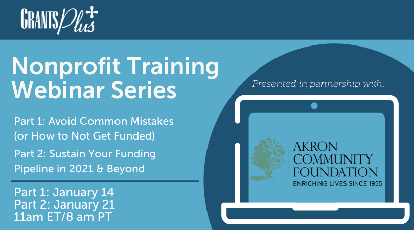 Akron Community Foundation Training Webinar Series
